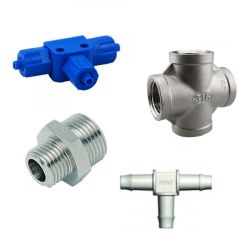 Materials for the production of couplings and fittings