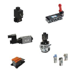 Pneumatic valves for precise control of the systems