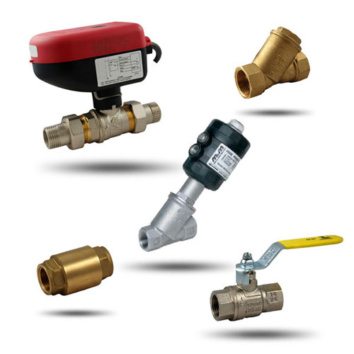Shut-off valves for many applications
